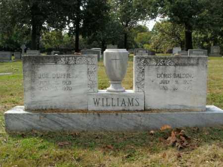 WILLIAMS, JOE DUFFIE - Pulaski County, Arkansas | JOE DUFFIE WILLIAMS - Arkansas Gravestone Photos