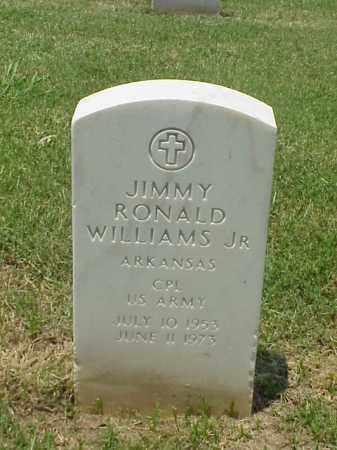 WILLIAMS, JR (VETERAN VIET), JIMMY RONALD - Pulaski County, Arkansas   JIMMY RONALD WILLIAMS, JR (VETERAN VIET) - Arkansas Gravestone Photos