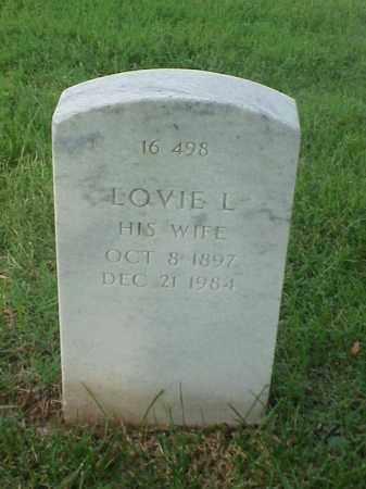 WILLIAMS, LOVIE L - Pulaski County, Arkansas | LOVIE L WILLIAMS - Arkansas Gravestone Photos