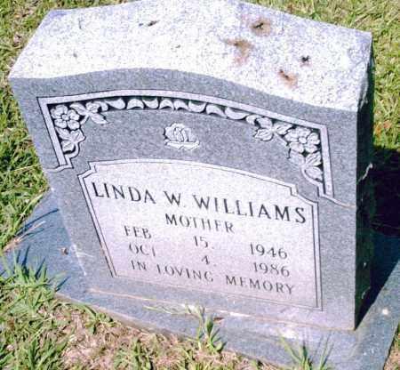 WILLIAMS, LINDA  W. - Pulaski County, Arkansas | LINDA  W. WILLIAMS - Arkansas Gravestone Photos