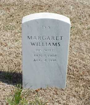 WILLIAMS, MARGARET - Pulaski County, Arkansas | MARGARET WILLIAMS - Arkansas Gravestone Photos