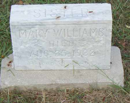 WILLIAMS, MARY - Pulaski County, Arkansas | MARY WILLIAMS - Arkansas Gravestone Photos