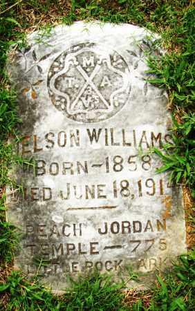 WILLIAMS, NELSON - Pulaski County, Arkansas   NELSON WILLIAMS - Arkansas Gravestone Photos
