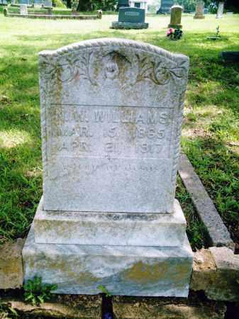 WILLIAMS, N W - Pulaski County, Arkansas | N W WILLIAMS - Arkansas Gravestone Photos