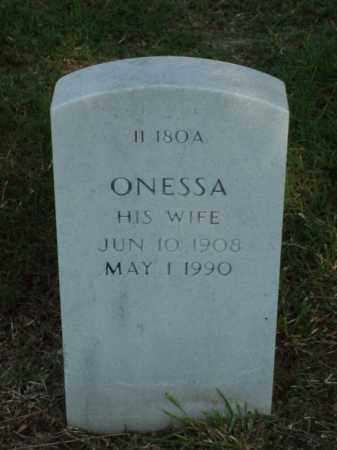 WILLIAMS, ONESSA - Pulaski County, Arkansas | ONESSA WILLIAMS - Arkansas Gravestone Photos