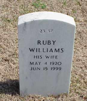 WILLIAMS, RUBY - Pulaski County, Arkansas | RUBY WILLIAMS - Arkansas Gravestone Photos