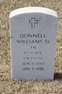WILLIAMS, SR (VETERAN VIET), DONNELL - Pulaski County, Arkansas   DONNELL WILLIAMS, SR (VETERAN VIET) - Arkansas Gravestone Photos