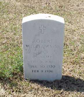 WILLIAMS, SR (VETERAN WWII), ROBERT - Pulaski County, Arkansas | ROBERT WILLIAMS, SR (VETERAN WWII) - Arkansas Gravestone Photos