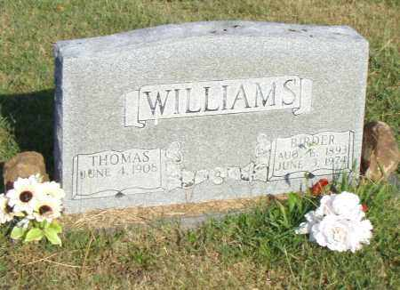 WILLIAMS, BIRDER - Pulaski County, Arkansas   BIRDER WILLIAMS - Arkansas Gravestone Photos