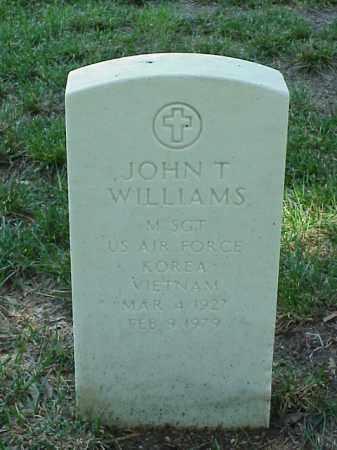 WILLIAMS (VETERAN 2 WARS), JOHN T - Pulaski County, Arkansas | JOHN T WILLIAMS (VETERAN 2 WARS) - Arkansas Gravestone Photos