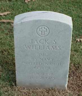WILLIAMS (VETERAN 2 WARS), JACK S - Pulaski County, Arkansas | JACK S WILLIAMS (VETERAN 2 WARS) - Arkansas Gravestone Photos