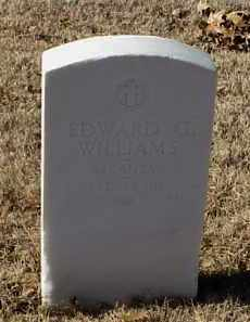 WILLIAMS (VETERAN), EDWARD G - Pulaski County, Arkansas | EDWARD G WILLIAMS (VETERAN) - Arkansas Gravestone Photos