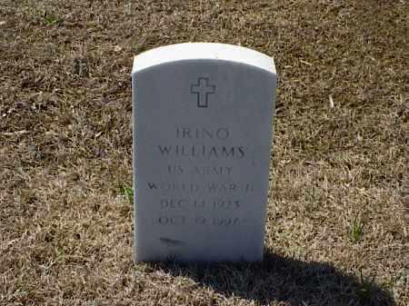 WILLIAMS (VETERAN WWII), IRINO - Pulaski County, Arkansas   IRINO WILLIAMS (VETERAN WWII) - Arkansas Gravestone Photos