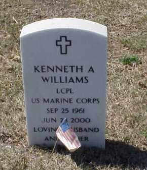 WILLIAMS (VETERAN), KENNETH A - Pulaski County, Arkansas | KENNETH A WILLIAMS (VETERAN) - Arkansas Gravestone Photos