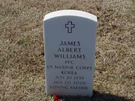 WILLIAMS (VETERAN KOR), JAMES ALBERT - Pulaski County, Arkansas | JAMES ALBERT WILLIAMS (VETERAN KOR) - Arkansas Gravestone Photos