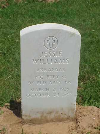 WILLIAMS (VETERAN KOR), JESSIE - Pulaski County, Arkansas | JESSIE WILLIAMS (VETERAN KOR) - Arkansas Gravestone Photos