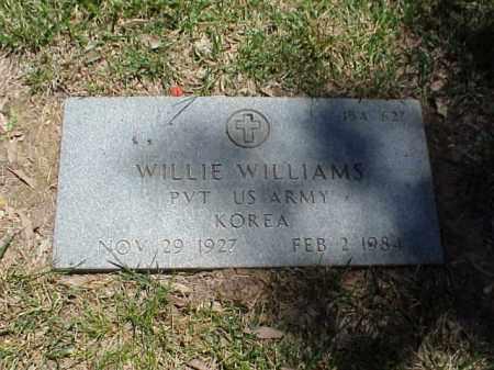 WILLIAMS (VETERAN KOR), WILLIE - Pulaski County, Arkansas | WILLIE WILLIAMS (VETERAN KOR) - Arkansas Gravestone Photos
