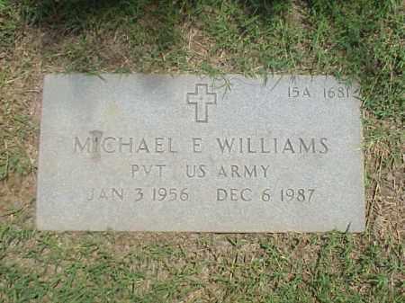 WILLIAMS (VETERAN), MICHAEL E - Pulaski County, Arkansas | MICHAEL E WILLIAMS (VETERAN) - Arkansas Gravestone Photos
