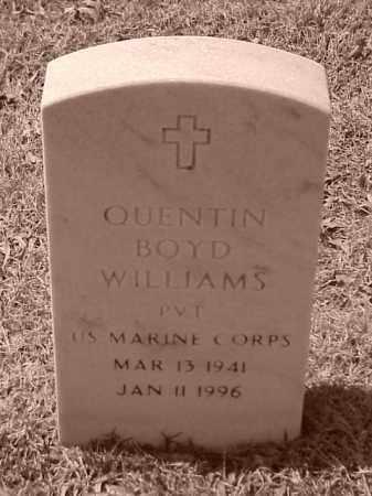 WILLIAMS (VETERAN), QUENTIN BOYD - Pulaski County, Arkansas | QUENTIN BOYD WILLIAMS (VETERAN) - Arkansas Gravestone Photos