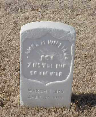 WILLIAMS (VETERAN SAW), JAMES H - Pulaski County, Arkansas   JAMES H WILLIAMS (VETERAN SAW) - Arkansas Gravestone Photos