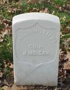WILLIAMS (VETERAN UNION), JOHN D - Pulaski County, Arkansas   JOHN D WILLIAMS (VETERAN UNION) - Arkansas Gravestone Photos