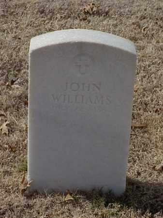WILLIAMS (VETERAN UNION), JOHN - Pulaski County, Arkansas   JOHN WILLIAMS (VETERAN UNION) - Arkansas Gravestone Photos