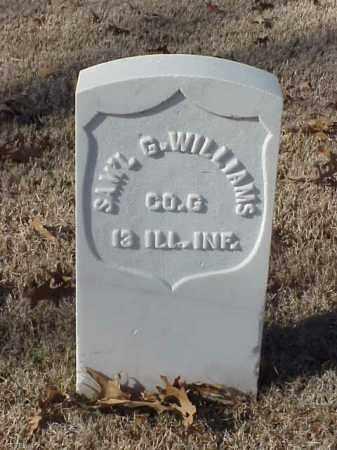 WILLIAMS (VETERAN UNION), SAMUEL G - Pulaski County, Arkansas | SAMUEL G WILLIAMS (VETERAN UNION) - Arkansas Gravestone Photos