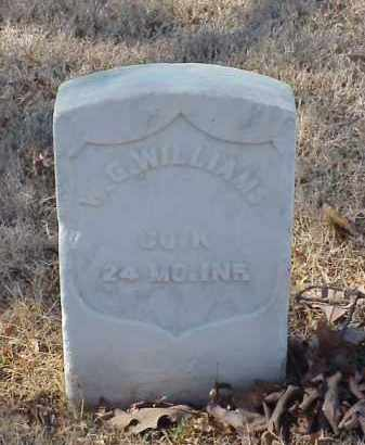 WILLIAMS (VETERAN UNION), W G - Pulaski County, Arkansas   W G WILLIAMS (VETERAN UNION) - Arkansas Gravestone Photos