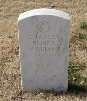 WILLIAMS (VETERAN VIET), CHARLES ELMER - Pulaski County, Arkansas | CHARLES ELMER WILLIAMS (VETERAN VIET) - Arkansas Gravestone Photos