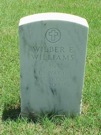 WILLIAMS (VETERAN), WILBER E - Pulaski County, Arkansas | WILBER E WILLIAMS (VETERAN) - Arkansas Gravestone Photos