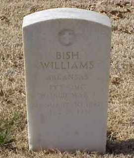 WILLIAMS (VETERAN WWI), BISH - Pulaski County, Arkansas | BISH WILLIAMS (VETERAN WWI) - Arkansas Gravestone Photos