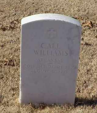 WILLIAMS (VETERAN WWI), CARL - Pulaski County, Arkansas   CARL WILLIAMS (VETERAN WWI) - Arkansas Gravestone Photos