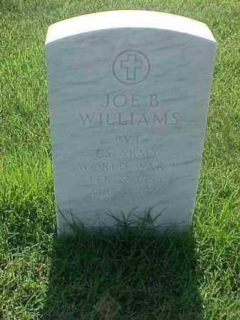 WILLIAMS (VETERAN WWI), JOE B - Pulaski County, Arkansas   JOE B WILLIAMS (VETERAN WWI) - Arkansas Gravestone Photos