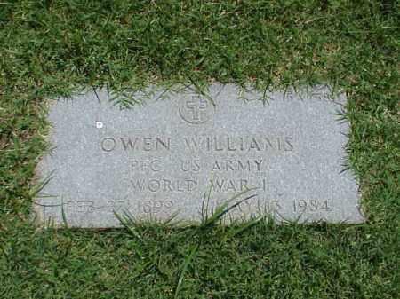 WILLIAMS (VETERAN WWI), OWEN - Pulaski County, Arkansas | OWEN WILLIAMS (VETERAN WWI) - Arkansas Gravestone Photos