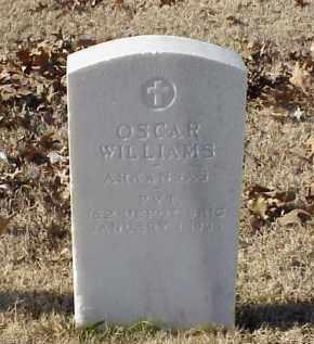 WILLIAMS (VETERAN WWI), OSCAR - Pulaski County, Arkansas | OSCAR WILLIAMS (VETERAN WWI) - Arkansas Gravestone Photos