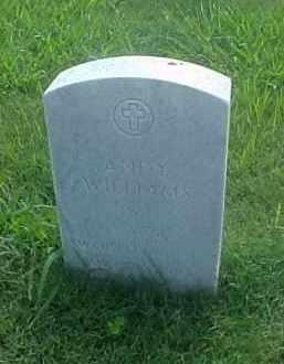 WILLIAMS (VETERAN WWII), ANDY - Pulaski County, Arkansas   ANDY WILLIAMS (VETERAN WWII) - Arkansas Gravestone Photos
