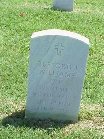 WILLIAMS (VETERAN WWII), BUFFORD I - Pulaski County, Arkansas | BUFFORD I WILLIAMS (VETERAN WWII) - Arkansas Gravestone Photos