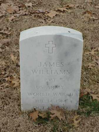 WILLIAMS (VETERAN WWII), JAMES - Pulaski County, Arkansas   JAMES WILLIAMS (VETERAN WWII) - Arkansas Gravestone Photos
