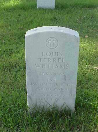 WILLIAMS (VETERAN WWII), LOUIS TERREL - Pulaski County, Arkansas | LOUIS TERREL WILLIAMS (VETERAN WWII) - Arkansas Gravestone Photos
