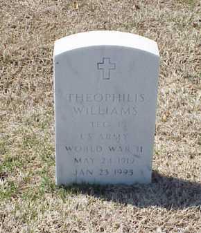 WILLIAMS (VETERAN WWII), THEOPHILIS - Pulaski County, Arkansas | THEOPHILIS WILLIAMS (VETERAN WWII) - Arkansas Gravestone Photos