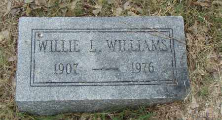 WILLIAMS, WILLIE L. - Pulaski County, Arkansas | WILLIE L. WILLIAMS - Arkansas Gravestone Photos