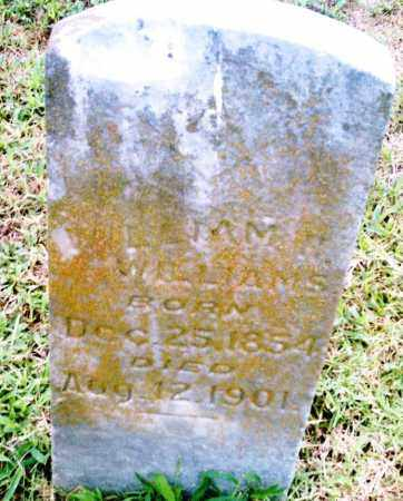 WILLIAMS, WIILLIAM H. - Pulaski County, Arkansas | WIILLIAM H. WILLIAMS - Arkansas Gravestone Photos