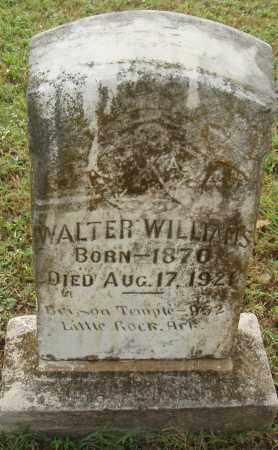 WILLIAMS, WALTER - Pulaski County, Arkansas   WALTER WILLIAMS - Arkansas Gravestone Photos