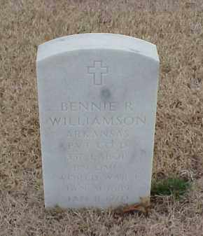WILLIAMSON  (VETERAN WWI), BENNIE R - Pulaski County, Arkansas   BENNIE R WILLIAMSON  (VETERAN WWI) - Arkansas Gravestone Photos