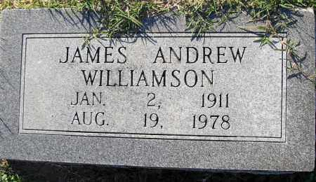 WILLIAMSON, JAMES ANDREW - Pulaski County, Arkansas | JAMES ANDREW WILLIAMSON - Arkansas Gravestone Photos