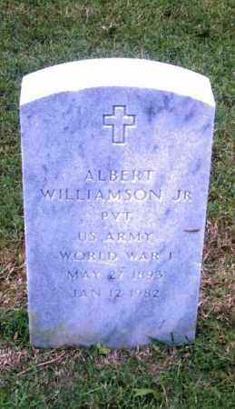 WILLIAMSON, JR,  (VETERAN WWI), ALBERT - Pulaski County, Arkansas | ALBERT WILLIAMSON, JR,  (VETERAN WWI) - Arkansas Gravestone Photos