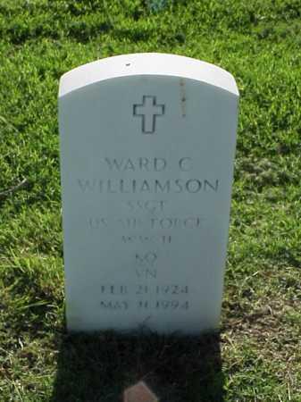 WILLIAMSON (VETERAN 3 WARS), WARD C - Pulaski County, Arkansas | WARD C WILLIAMSON (VETERAN 3 WARS) - Arkansas Gravestone Photos