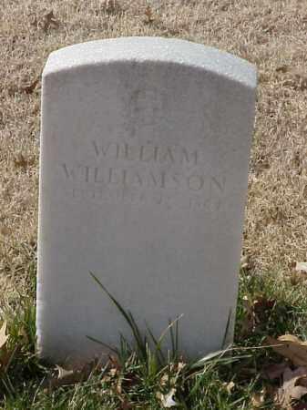 WILLIAMSON (VETERAN UNION), WILLIAM - Pulaski County, Arkansas | WILLIAM WILLIAMSON (VETERAN UNION) - Arkansas Gravestone Photos