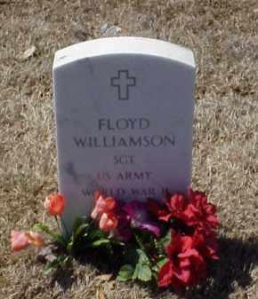 WILLIAMSON (VETERAN WWII), FLOYD - Pulaski County, Arkansas | FLOYD WILLIAMSON (VETERAN WWII) - Arkansas Gravestone Photos
