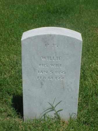 WILLIAMSON, WILIE - Pulaski County, Arkansas | WILIE WILLIAMSON - Arkansas Gravestone Photos